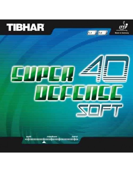 Rubber Tibhar Super Defense 40 Soft