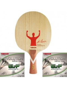 Tibhar FULL Package Limited Edition 25th Years Blade Samsonov + Alu Case + Towel + Rubbers